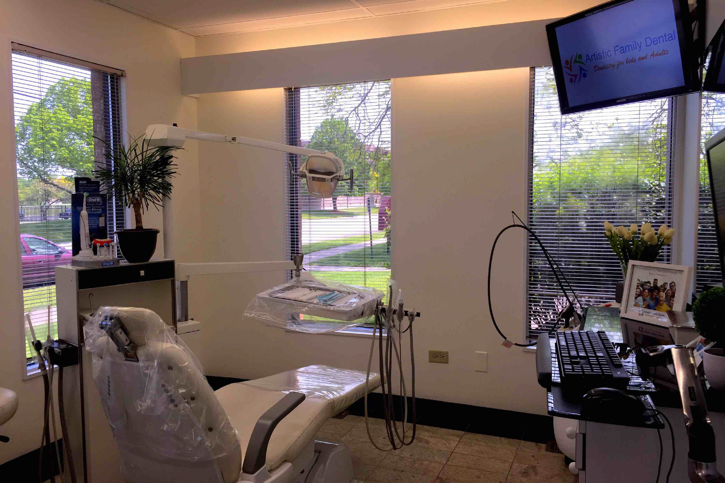 Enjoy our comfortable treatment rooms.